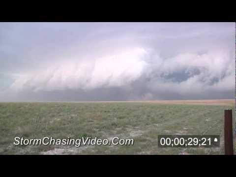 5/30/2012 Jetmore, KS - Large Shelf Cloud