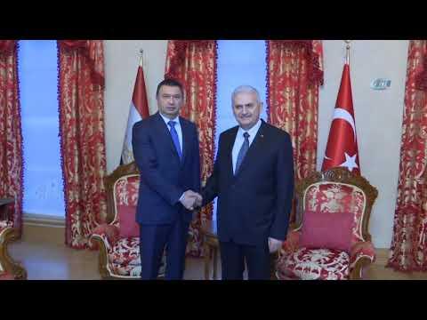 Başbakan Binali Yıldırım, Tacikistan Başbakanı'nı Kabul Etti