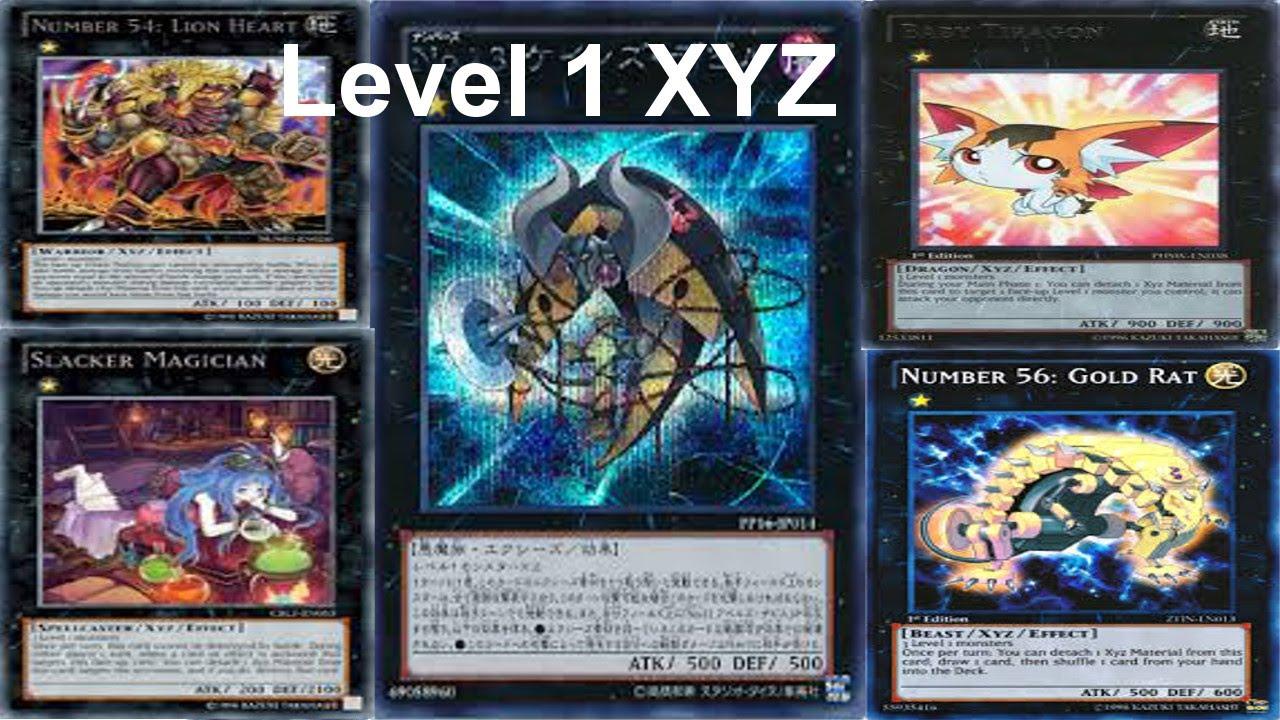 Level Decks Yugioh Yu-gi-oh Deck Profile Level 1