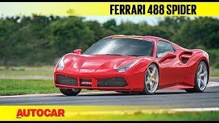 HOT LAP : Ferrari 488 Spider | Track Day 2018 | Autocar India