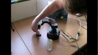 AREXX ROBOT-ARM MINI Teil 3 Roboter in Aktion
