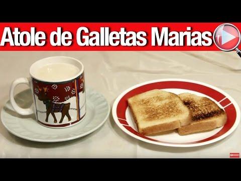 Atole de Galletas Marias, Delicioso - Recetas en Casayfamiliatv