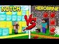NOTCH HOUSE VS HEROBRINE HOUSE! - MINECRAFT MP3
