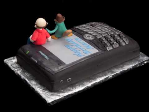 Blackberry & Perry Birthday Cake