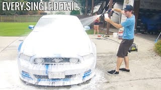 Detailing Smurrf Using Patterson Car Care!
