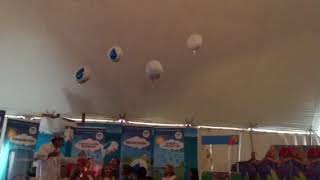 Mad Science Man Water Cycle Demo