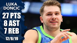 Luka Doncic passes Michael Jordan in consecutive 20-5-5 games vs. Kings | 2019-20 NBA Highlights