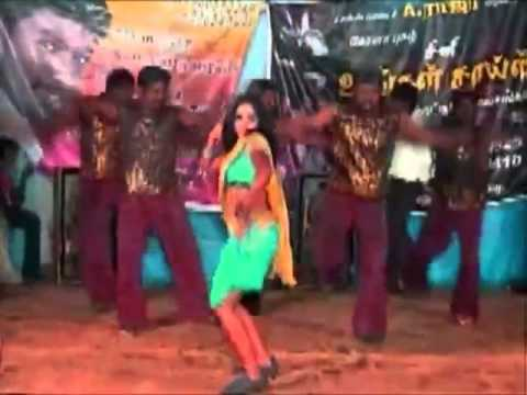 Tamil Village Dance New | Tamil Hot Stage Dance video