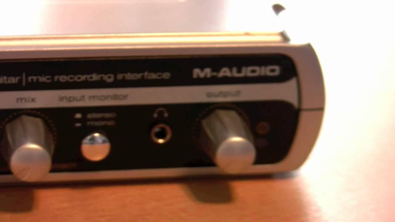 m audio usb interface drivers