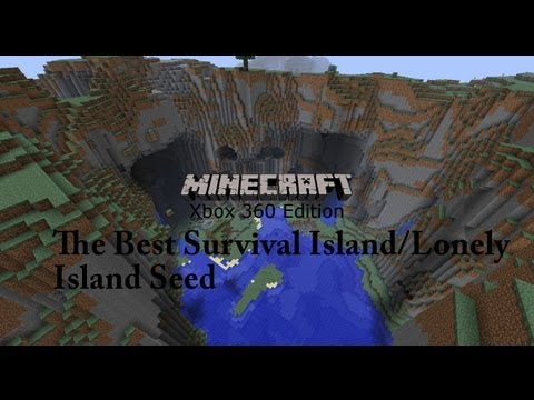 Super Seeds-The Best Survival Island/Lonely Island Seed!(Minecraft Xbox 360)
