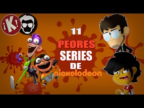 Top 11: PEORES Series De Nickelodeon | ¡KHAZOO! FT. La Zona Cero