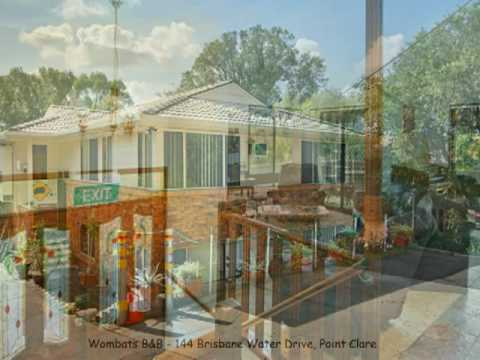 Gosford's closest largest & the best priced, Self Catering, B&B or Apartments. http://www.wombatbed.com Escape Sydney to the beautiful Central Coast and the ...