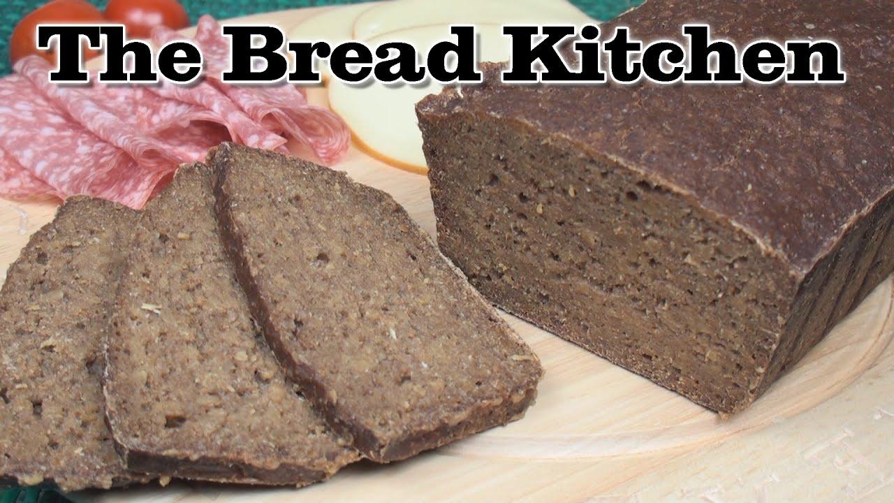 German Bread Recipe German Pumpernickel Recipe in