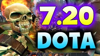 7.20 DOTA 2 NEW PATCH - IMBA CHANGES!