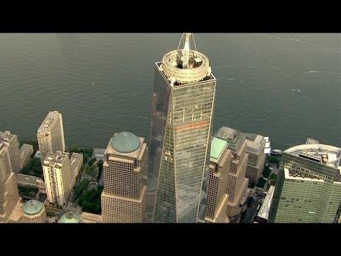 Bird's eye view of 1 WTC