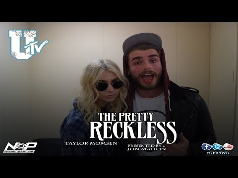 Taylor Momsen from The Pretty Reckless On Tour Interview With Total Uprawr Presented By Jon Mahon