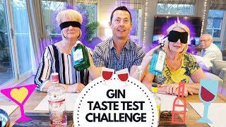 THE GIN TASTE TEST CHALLENGE | THE LODGE GUYS