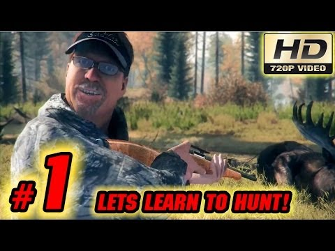 Cabela's Big Game Hunter Pro Hunts Playthrough: Part 1 Let's Learn To Hunt Deer! (Walkthrough)