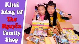 THƠ NGUYỄN FAMILY SHOP - Yến Nhi khui Bưu Phẩm Đã Mua | NYN KID