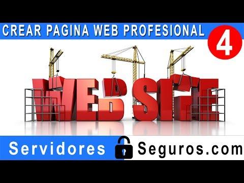 CREAR PAGINA WEB PROFESIONAL FACIL Y RAPIDO PARTE 4