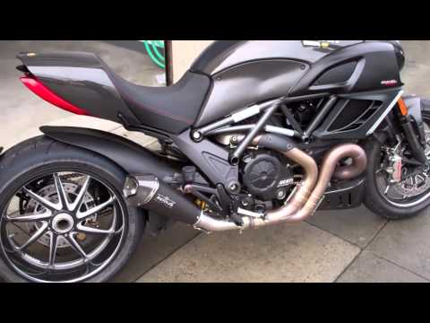 Ducati Diavel Amg Exhaust Sound