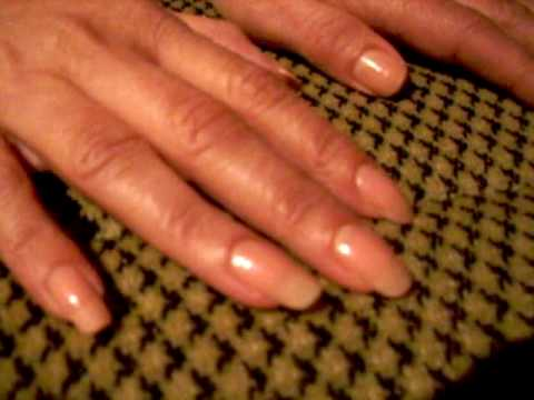 Flo natural and strong long nails Video