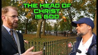 Video: Can a 100% God have a God? - Hashim vs Christian Rob