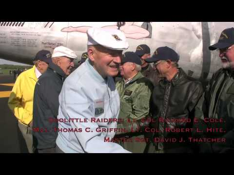 B-25 Pacific Princess 68th Doolittle Reunion