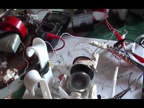 Ossie motor replication - 930rpms 1 milliwatt