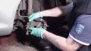 New Front Brake Pads - Ford Fiesta Mk7 (2008 on)