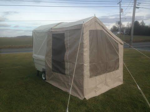 Add-a-Room for the Kompact Kamp Mini Mate Camper