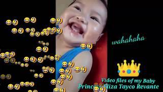 BABY VIDEO FILES | FUNNY BABY | PRINCESS ELIZA TAYCO REVANTE