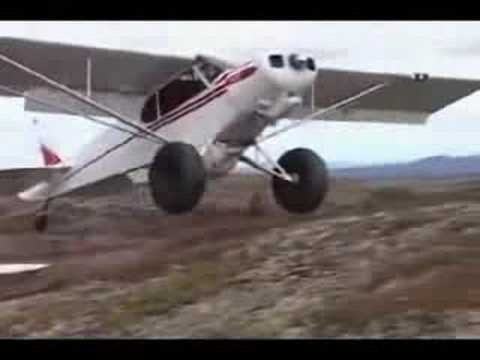 Short Landing and Take-off Piper Cub