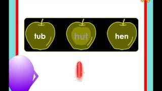 Kindergarten phonics activity -  words with short vowel sounds - which word sounds different