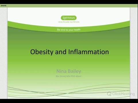 Obesity and inflammation, with Dr Nina Bailey