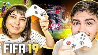 SÓ VALE GOL DE VOLEIO OU DE CABEÇA!!! COM NAMORADA!!! FIFA 19!