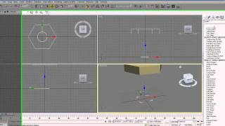3Ds Max Tutorial 10 Extruding splines
