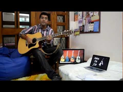 Mere sapnon ki rani on guitar..!(best old hindi song 4 guitar...
