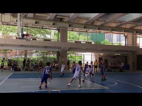 2018香港青少年籃球邀請賽香港SKY KIDS vs 貴州陽光飛人籃球俱樂部隊(第一節及第二節)
