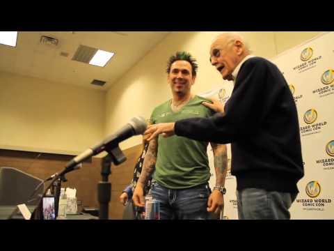 Stan Lee Approves of Jason David Frank Hi Res