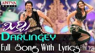 Mirchi - Darlingey Full Song With Lyrics | Mirchi Telugu Movie