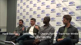 Wondercon 2014 TNT's The Last Ship Press Room with Charles Parnell, Travis Van Winkle