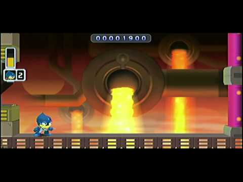Mega Man Powered Up - Fire Man on Hard as Oil Man in 2:15'41