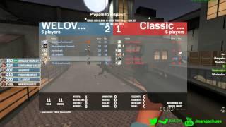 ESEA-Invite Match - Classic Mixup vs WE LOVE ANIME