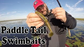 Paddle Tail Swimbaits - Bass Fishing