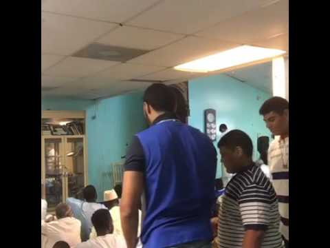 EID PRAYER IN NEW YORK, USA