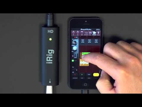 Recording on your iPhone - AmpliTube Studio DAW app inside AmpliTube for iPhone iPad iPod touch