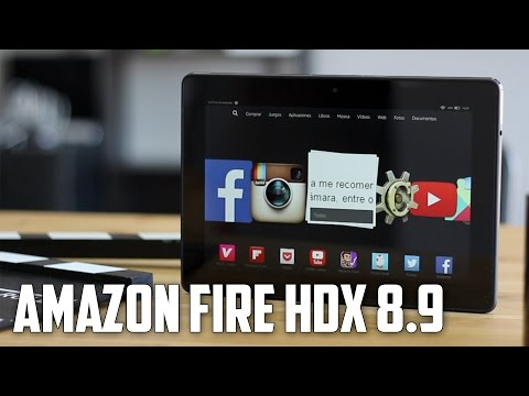 Kindle Fire HDX 8.9, Review en espa�ol