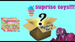 Suprise box toys!!! Squishy