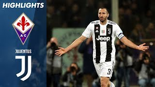 Fiorentina 0-3 Juventus | Juve Tough It Out to Win in Florence | Serie A